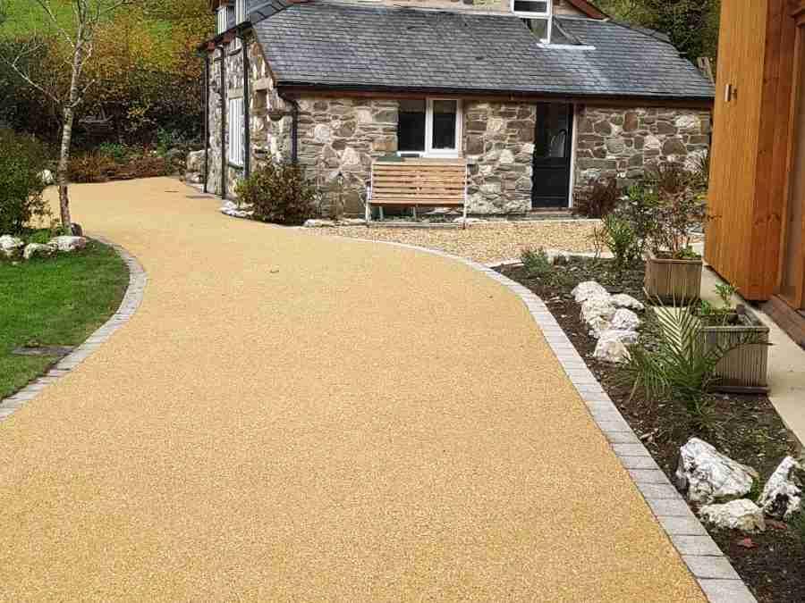 Private driveway Wales