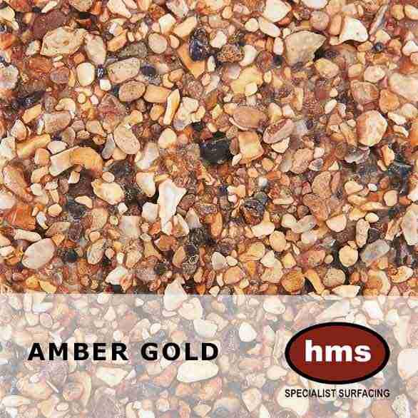 Amber Gold - Resin Bonded Sample