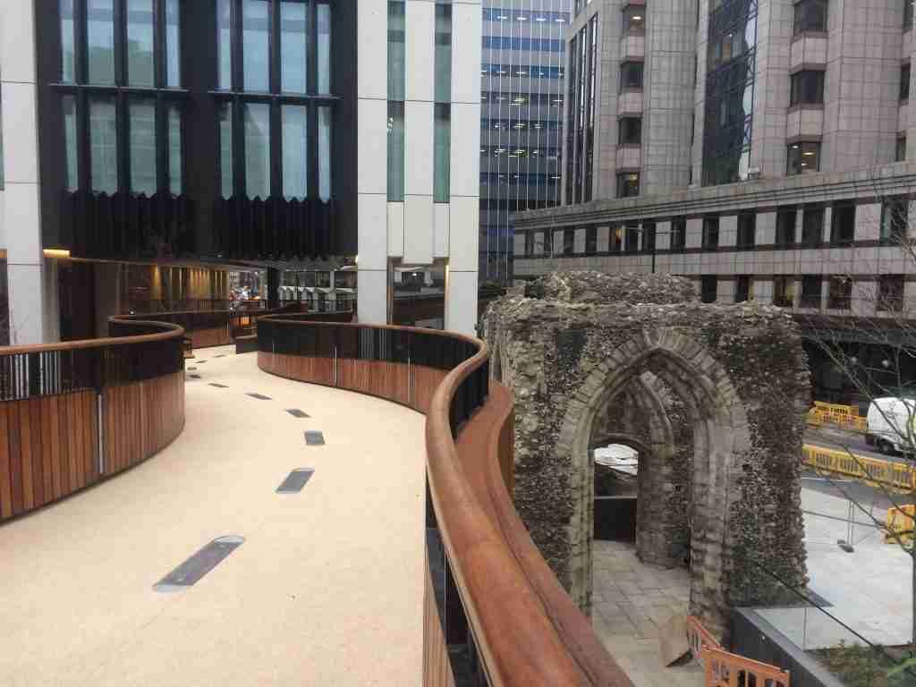 Decra Set Resin bound surfacing for public walkway