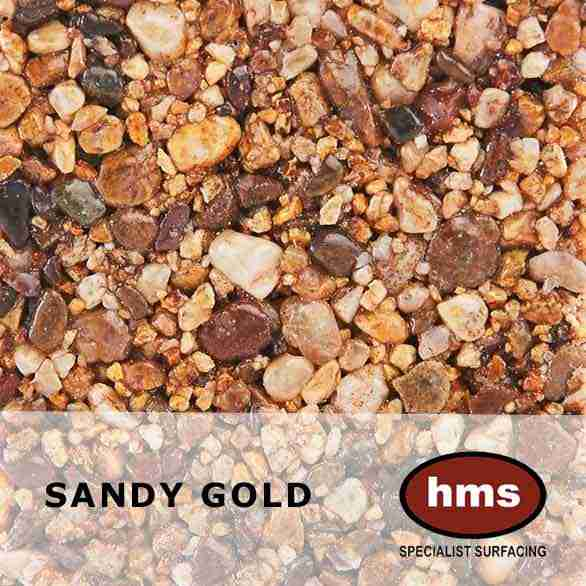 Sandy Gold - Resin Bound Sample