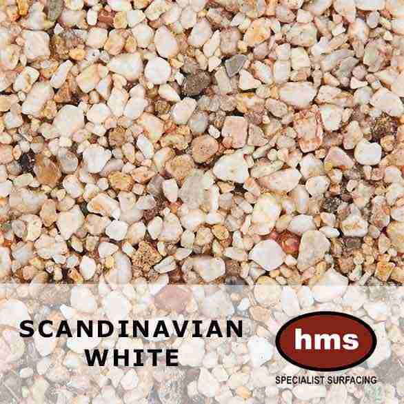 Scandinavian White - Resin Bound Sample