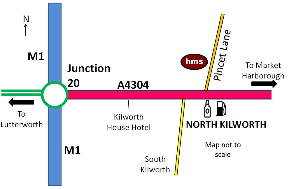 HMS location
