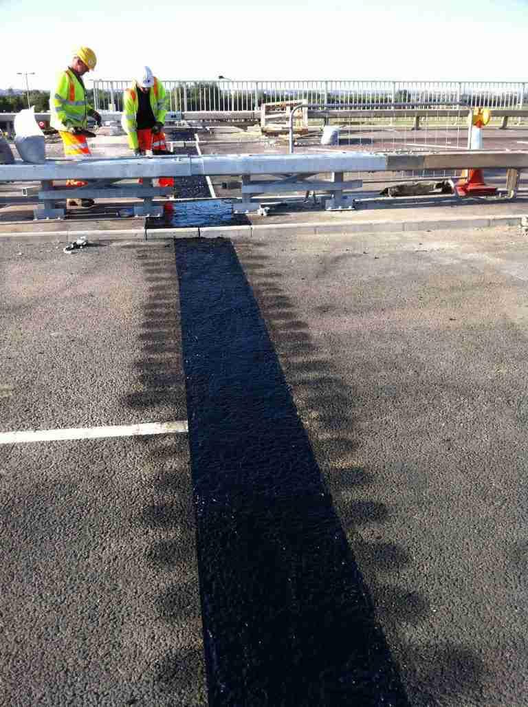 Joint sealing and asphaltic road repairs