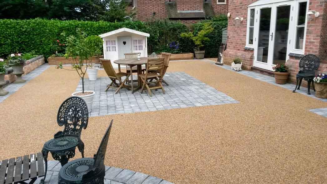 Decra®Set Resin Bound Garden & Courtyard, Private Property, South Kilworth