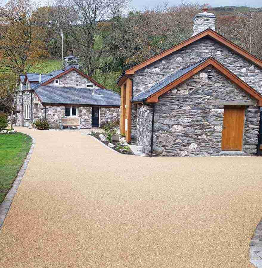 Resin Bonded DecraStone Driveway in Wales