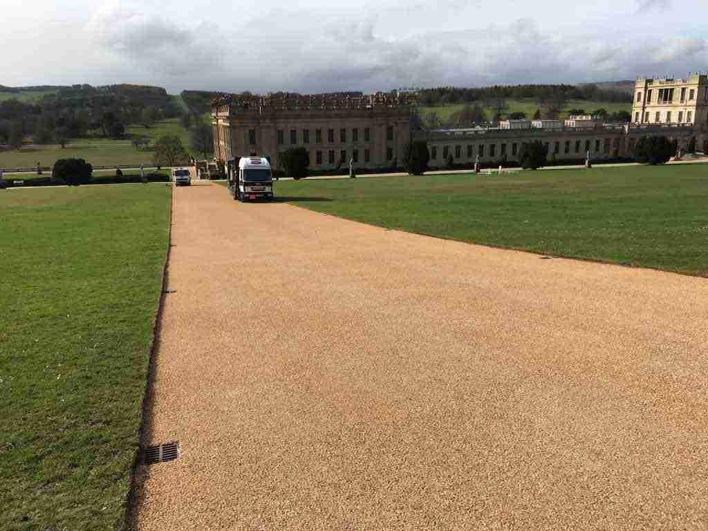 DecraStone Resin Bonded Surfacing - Chatsworth House, Derbyshire