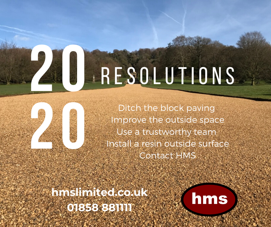 Resin bound and bonded paving