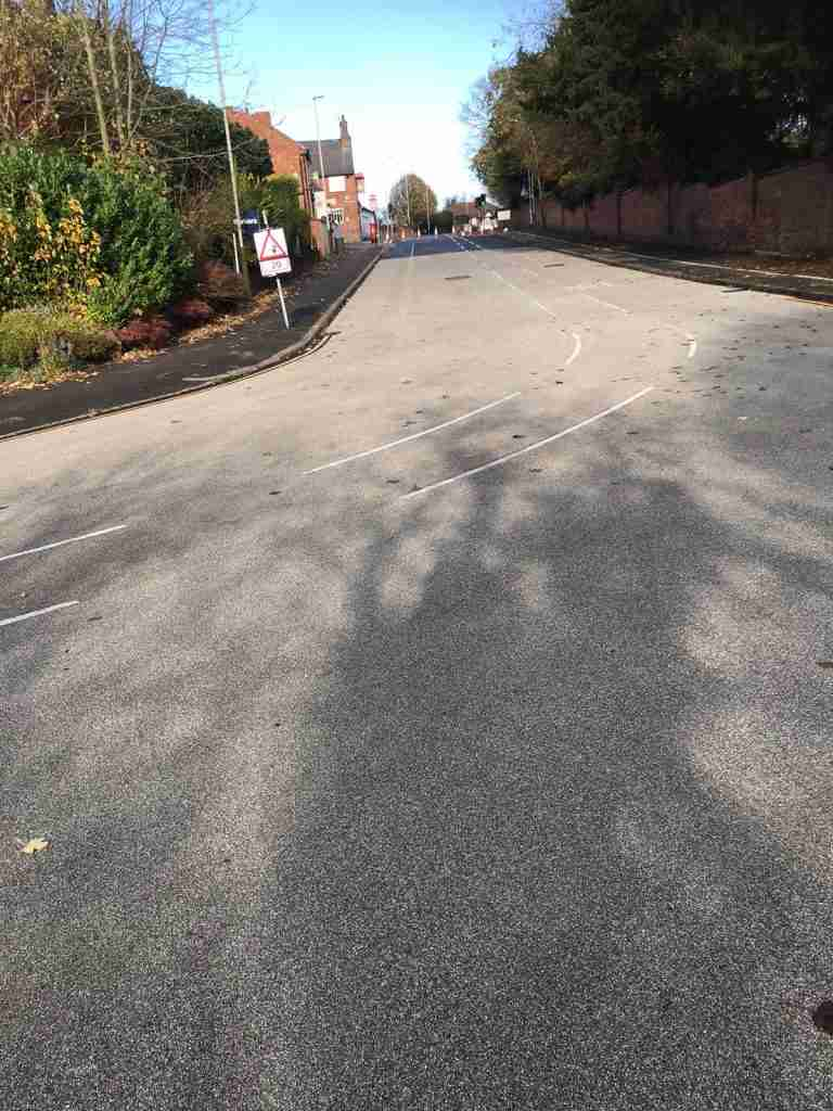 Anti Skid Surfacing for Leicester City Council